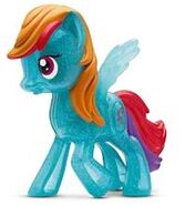 MLP crystal Rainbow Dash