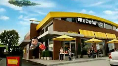 Astro Boy McDonald's Happy Meal Commericial