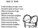 Hug O' War by Sheldon Allan Silverstein
