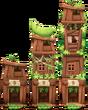 House Chipmunk Hut Level 1to3
