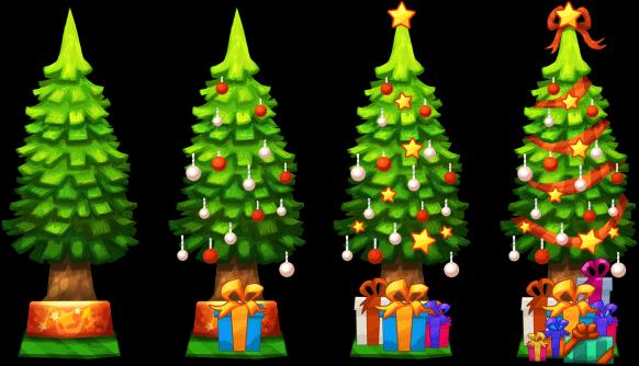 FileXmas Decoration Christmas Tree Level 1to4