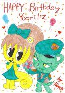 Happy birthday Yooriliz by xxFlippy4lifexx