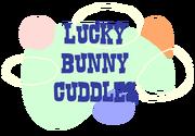 Lucky Bunny Cuddles Logo