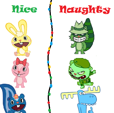 HTF Naughty or Nice   Happy Tree Friends Fanon Wiki   FANDOM