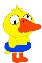 Quacko (With floatie)