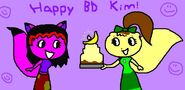 Happy BD Kim late gift by roolrool