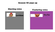 Season 90 pop up