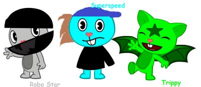 Robo Star Superspeed Trippy