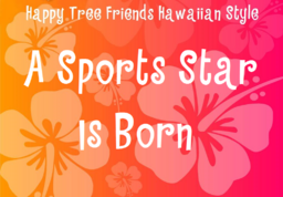 Title Card for a sports star is born