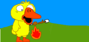 Quacko chicken arm