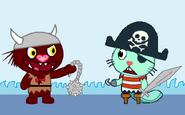 Viking vs pirate