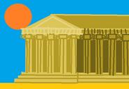 Big Picture - Greek Temple