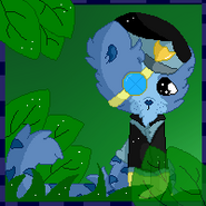 Blue and green by swayayso-d5ogcnk