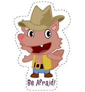 Howdysticker