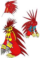 Pokemon HTF Flaky by Skooterwolf