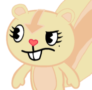Brenda in Happy Tree Friends style