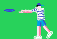 Big Picture - Frisbee Thrower