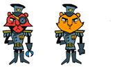 Tiger General's Siblings
