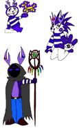 Pokemon HTF Mime by Skooterwolf