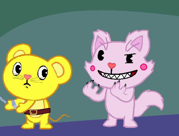 Cat HTF part 1 by Ariasong7 on DeviantArt |Happy Tree Friends Cat