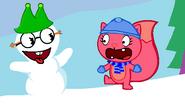 Snowmankringle