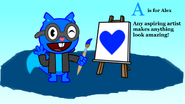 A is for Alex