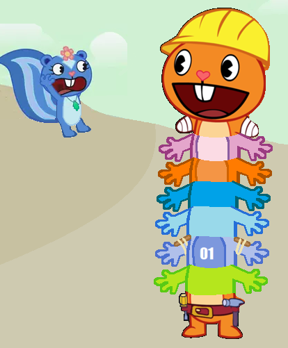 beaver centipede happy tree friends fanon wiki fandom