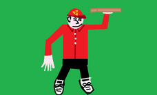 Big Picture - Pizza Delivery Man