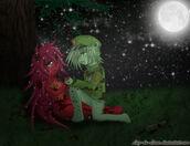 Flippy x flaky sadness by luz de luna-d54y10v