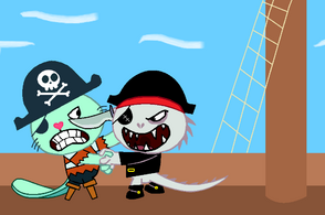 Pirate fight