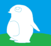 Big Picture - Ice Penguin