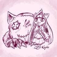 Sketch-kiyoko