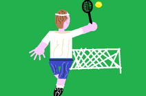 Big Picture - Tennis Player