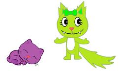 Emily& Kit-Kat