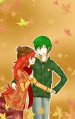 Flippy and flaky fall by amichiinyan-d4ygjet