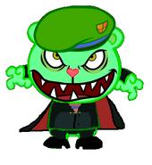 Flippy as Professor Ratigan