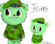 Flippy htf anime vercion by pokefubuki-d5uihqy