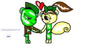 Evil Flippy And Yooriliz Gift by Jessy And Rachel
