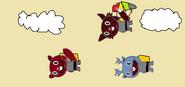 Treeless brothers parachute