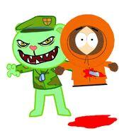 Flippy vs Kenny