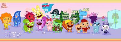 HTF characters