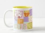 Graphic Design Two - Tone Coffee Mug