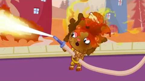"Disco Bear's scream from ""Doggone It"" reused in many Happy Tree Friends episodes."