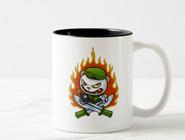 Flippy Flame Tattoo Mug