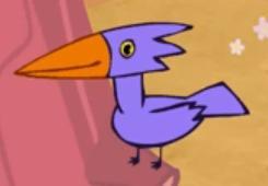 Purple Woodpecker