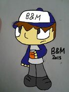 B&M Colored over