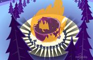 Singing around the fire