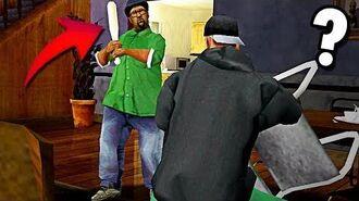 ¿Que hacia Big Smoke en la casa de CJ al inicio del juego? GTA SA-0