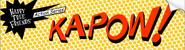 KA-POW! sticker