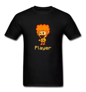 Disco Bear Player (for dark shirts)